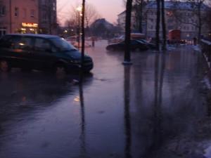 Waldstrasse in Neuvenedig